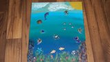 Tales of the Deep Blue Sea 16x20 Mixed Media 3D in Livingston, Texas