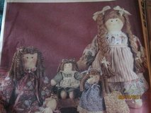 6 New vintage doll patterns in Fort Lewis, Washington
