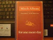"Bestseller Hardback Book By Mitch Albom - ""For One More Day"" in Kingwood, Texas"