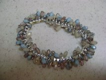 Soft Blue Stretch Bracelet - Gently Used in Houston, Texas