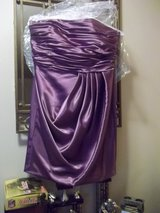 Satin ball gown w/front ruching. in Lockport, Illinois